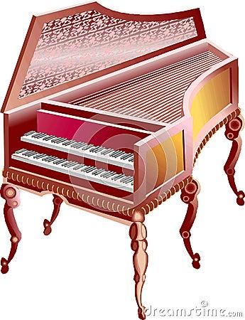 Italy double grand piano