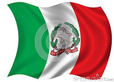 Italy Flag / Blazon