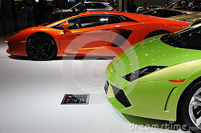 Italy Lamborghini Editorial Stock Photo