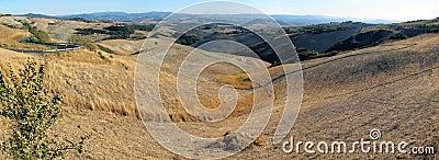 Italy, Landscape near Volterra