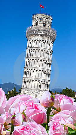 Italy.The Leaning Tower of Pisa