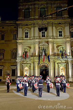 Italy military band Editorial Photo