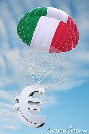 Italy parachute