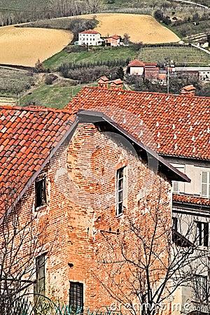 Italy: Piemontese landscape