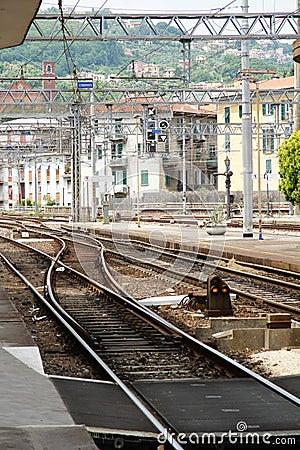 Italy rail road