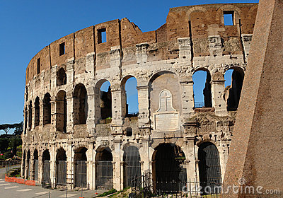 Italy Rome Colosseum Monument