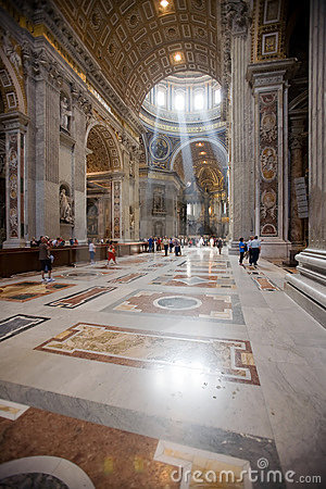 Free Italy, Rome, St. Peter�s Cathedral Stock Image - 5275131
