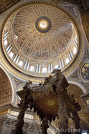 Italy, rome, st. peter�s cathedral