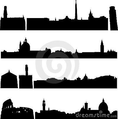 Italy s famous buildings.