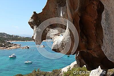 Italy Sardegna costa Smeralda landascape