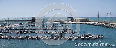 Italy, Siciliy, Mediterranean sea, marina