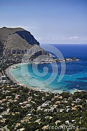 ITALY, Sicily, Mondello (Palermo)