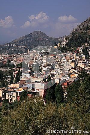 Italy Sicily Taormina vertical