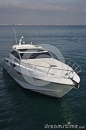 Italy, Tirrenian sea, luxury yacht Rizzardi 45