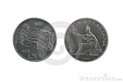 Italy union silver coins 2