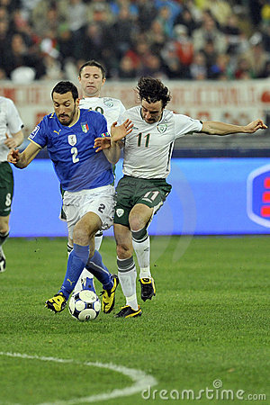 Free Italy Vs Ireland FIFA World Cup Royalty Free Stock Images - 8811499