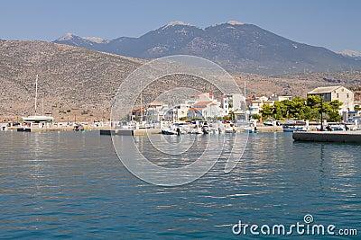 Itea port, Grekland