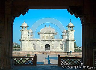 Itimad-ud-Daulah or Baby Taj in Agra,India