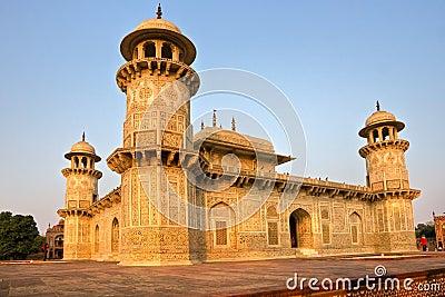 Itimad-ud-daulah at sunset, Agra, Uttar Pradesh, I