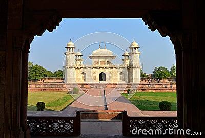 Itmad Ud Daula, Agra Editorial Stock Image