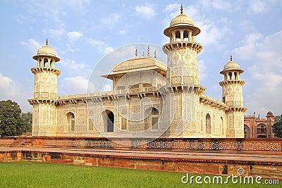 Itmad-ud-Daula s Tomb. Agra, India