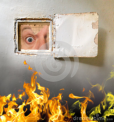 Free Its Scary Out There Stock Photo - 28456700