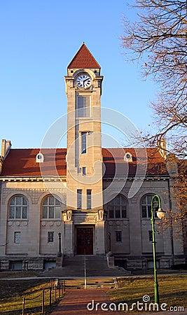 IU Indiana University Bloomington Campus