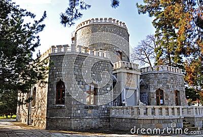 Iulia hasdeu castle near bucharest