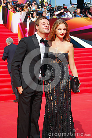 Ivan Nikolaev at Moscow Film Festival Editorial Stock Photo