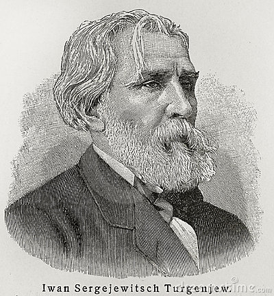 Ivan Turgenev Editorial Stock Photo