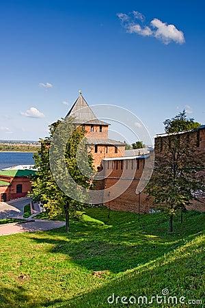 Ivanovskaya tower of Nizhny Novgorod kremlin