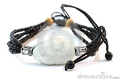 Ivory handmade bracelet