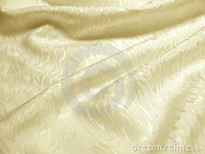 Ivory silk with texture of moire