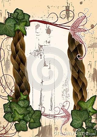 Ivy frame - fairy, elven