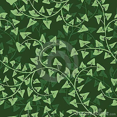 Ivy seamless  repeat pattern