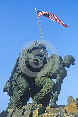 Iwo Jima Editorial Stock Photo