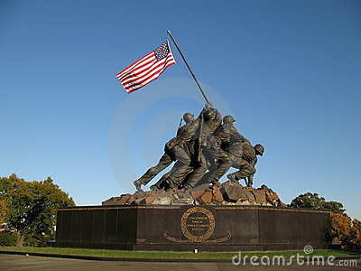 Iwo Jima Memorial Royalty Free Stock Photography - Image: 1441967
