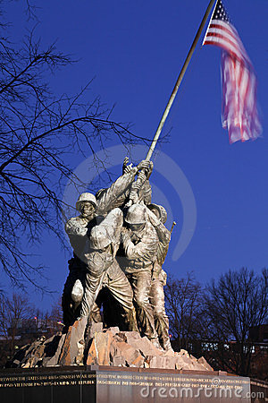 Iwo Jima US Marine Memorial Washington DC