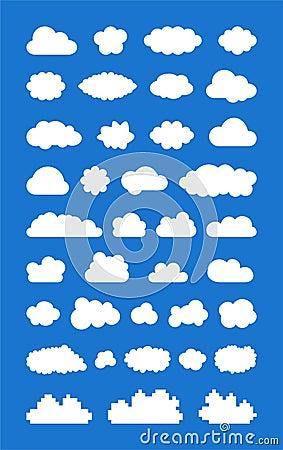 Комплект ized облаков