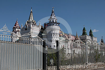 Izmailovo Kremlin. Moscow