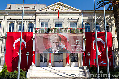 Izmir Government House Editorial Photography
