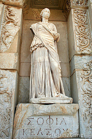 Izmir-peru das ruínas de Ephesus