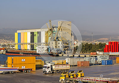 Izmir port Editorial Photography