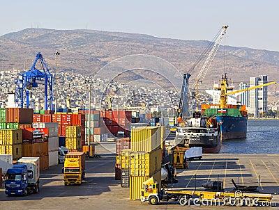 Izmir port Editorial Photography