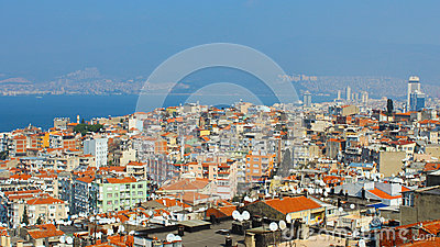 Izmir Wiew Editorial Stock Photo