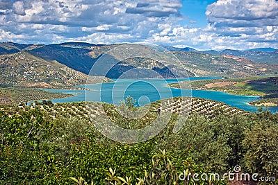 Iznajar Lake, Cordoba Province