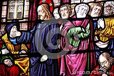 Jésus-Christ et ses disciples