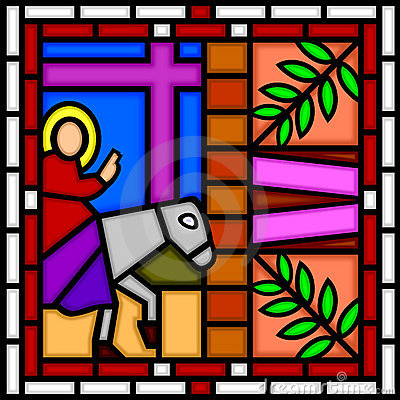 Jésus entrant dans Jérusalem