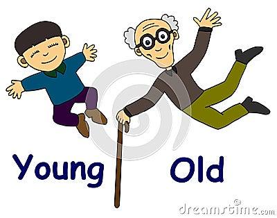 viejo y joven maravilloso