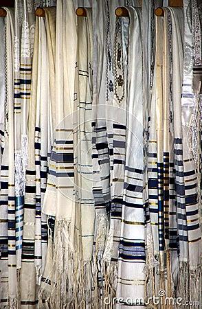 Jüdische Gebet-Schale oder Tallit